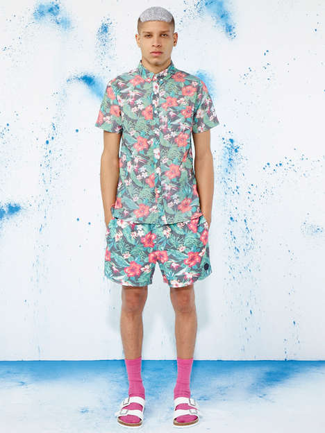 Candy Colored Streetwear Catalogs - The Native Youth Spring/Summer 2014 Lookbook is Pastel-Infused