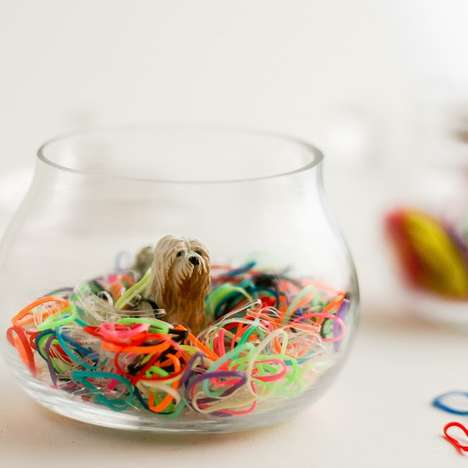 Crafty Toy Animal Jars - These DIY Animal Containers Keeps Hair Accessories in One Place