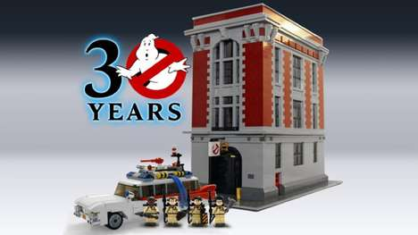 Spooky Sitcom LEGO Kits - This LEGO Ghostbusters Kit is a 30th Anniversary Limited Edition