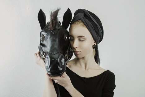 Decapitated Equine Handbags - The Horse Head Leather Bag is Morbid and Expertly Crafted