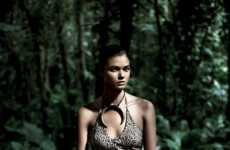 Smoldering Jungle Swimear Editorials