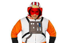 Sci-Fi Pilot Sweaters - This Star Wars Hoodie is Ready to Fly Your Wardrobe to the Future
