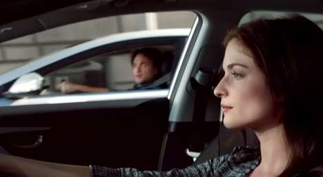 Pickup-Thwarting Auto Ads - This 2014 Hyundai Super Bowl Ad is a Tale of Boy Meets Girl with a Twist