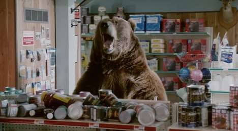 Choosy Bear Yogurt Ads - The Chobani Super Bowl 2014 Ad Stars a Health-Conscious Grizzly