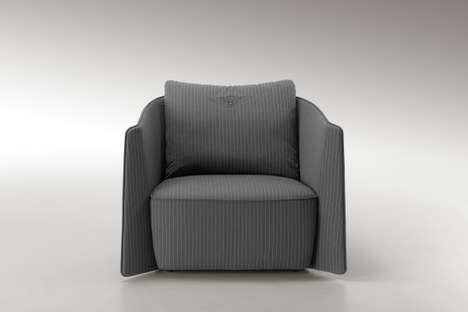 Luxury Automaker Armchairs (UPDATE) - The Bentley Home Collection 2014 is Sleek and Streamlined