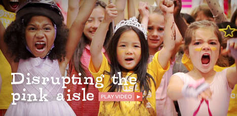 Empowering Female Toy Ads - The GoldieBlox Toy Company Creates Toys for Female Innovators