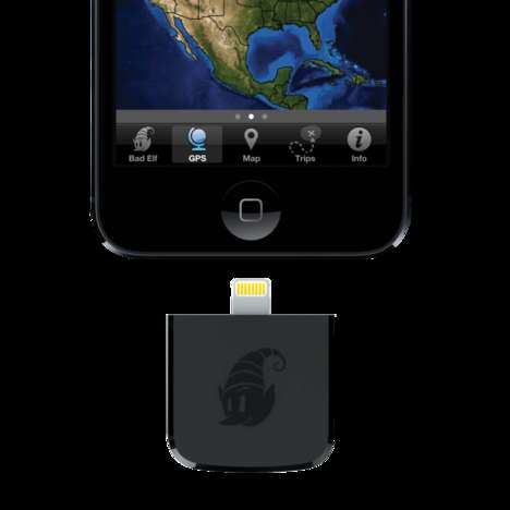 GPS iDevice Attachments - The Bad Elf GPS Provides Routing Without the Need for Network Coverage