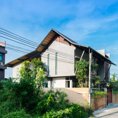 High Beam Traditional Homes - The Baan Yo Yen House in Thailand is Sustainably Traditional