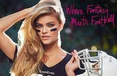 Seductive Football T-Shirts - Super Bowl Style Gets a Provocative Makeover with This Jersey