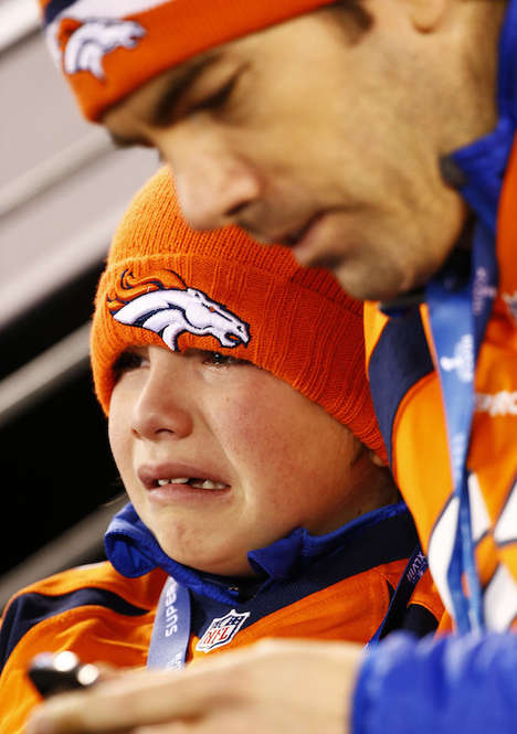 Hilarious Football Fan Photography - The Depressing Bronco Fan Photographs Provide Comic Relief