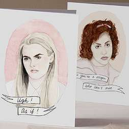 90s Cult Rejection Cards - These Clueless-Inspired Cards From OhgoshCindy are Totally Hilarious