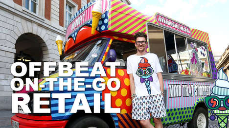 Offbeat On-the-Go Retail - Jamie Neely Shows Viewers the Growing Popularity Of Pop-Up Retail