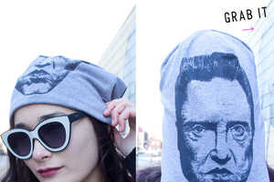 The Urban Cricket Graphic Apparel Beanies Feature Famous Personas