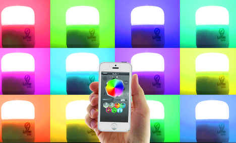App-Enabled Light Bulbs - The LuMini App Lets you Control the Lights However You Choose