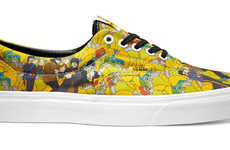 Iconic Band Tribute Sneakers - The Vans x The Beatles Yellow Submarine Capsule Collection is Trippy