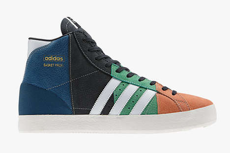 Vintage Polychromatic Sneaker Designs - The Adidas Originals Remix Oddity Flip Conventional Style