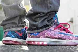 Kevin Durant's VI Aunt Pearl Sneaker Appreciates His Late Aunt