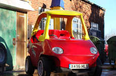 Adult-Sized Toy Cars - Attitude Autos has Created a Real Life Replica of a Little Tikes Toy Car