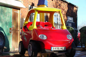 Attitude Autos has Created a Real Life Replica of a Little Tikes Toy Car