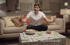 Millionaire Hashtag Competitions - The Esurance Post-Super Bowl Commercial Generated a Ton of Hype