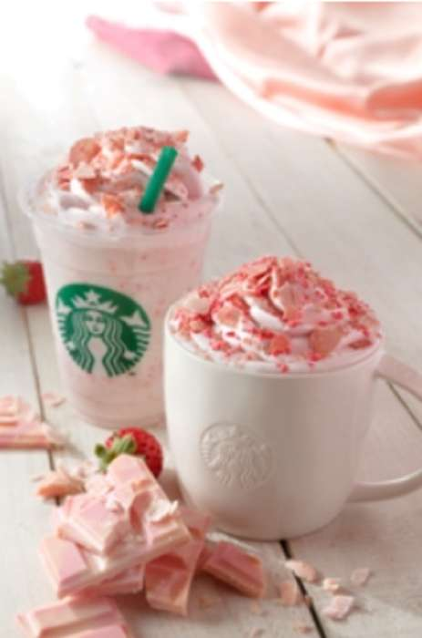 Caffeinated Blossom Beverages - Starbucks Japan is Introducing a Seasonal Sakura Chocolate Latte