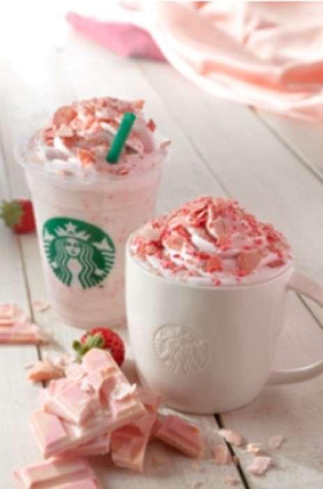 Caffeinated Blossom Beverages - Starbucks Japan is Introducing a Seasonal Sakura Chocolate Latte