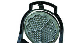 Heart-Shaped Waffle Makers - The Chef's Choice M840 WafflePro Express is a Must for Valentine's Day
