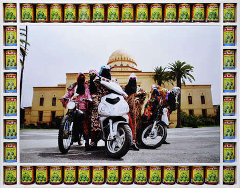 Arabic Girl Bikers - Kesh Angels by Hassan Hajjaj Captures a Niche Culture