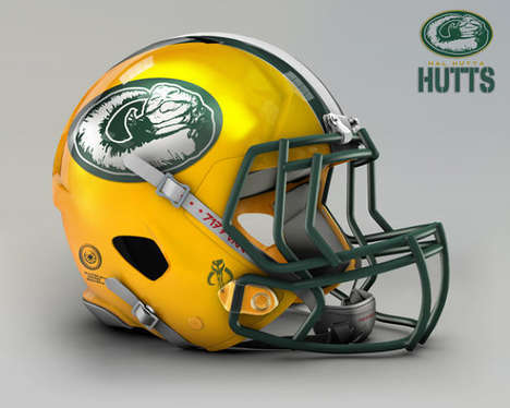 Sci-Fi Sports Helmets - The Star Wars National Football League by John Raya is Fictional