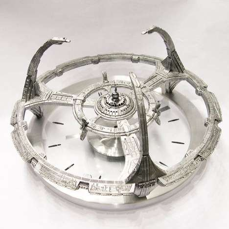 Pop Culture Space Clocks - This Deep Space Nine Clock Will Keep Your Time Regardless of Your Galaxy