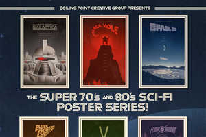 This Series of Retro Film Art Pays Tribute to the Sci-Fi Films of the 70s