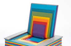 40 Funky Rainbow-Themed Furniture