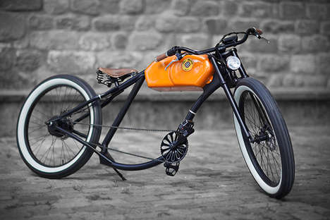 Anachronistic Bicycle Creations - Oto Cycles Perfectly Mix Old School Charm and Modern Engineering