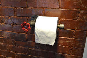 This Industrial Toilet Paper Holder is Heavy Duty and Durable