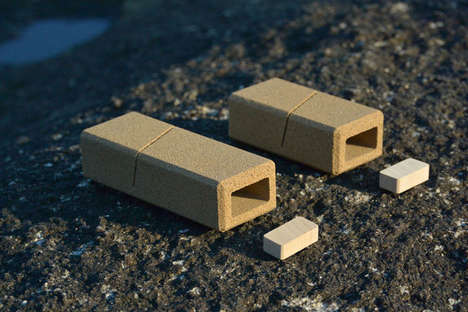 Eco Sand Packaging - Sand Packaging is Carefully Composed of Abundant Natural Material