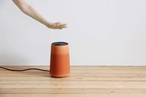 Flower Pot Air Conditioners - The Cold Pot by Thibault Faverie Lowers Temperatures Naturally