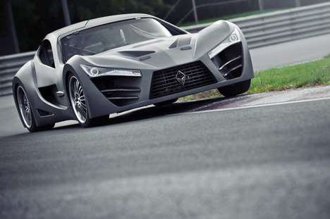 Carbon Fiber Canadian Supercars - The Felino CB7 Was Finally Unveiled at the 2014 Montreal Auto Show