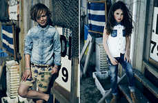 Distressed Vintage Child Couture
