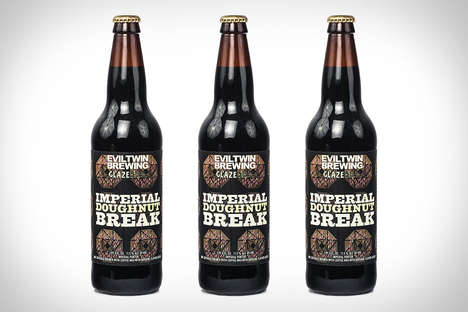 Syrup Donut-Flavored Beers - This Sweet Beer Trades in the Bitter for Something More Scrumptious