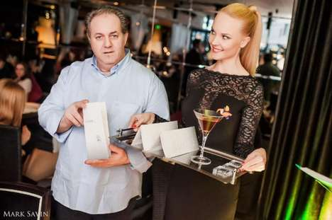 $50,000 Diamond Cocktails - Moscow Brings Us the World