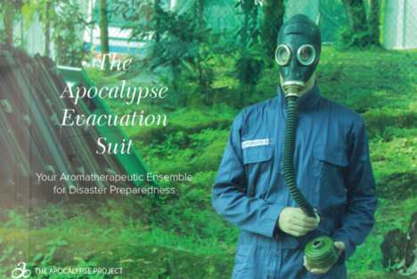 Apocalypse-Ready Fashion - Climate Change Couture by Catherine Sarah Young is a Fake Collection