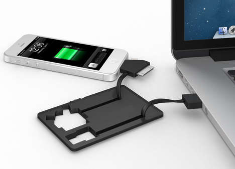 Smarter Jumper Cable Peripherals - The Jumper Card Breaths New Life into Dead Cell Phones
