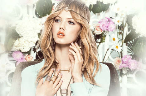 Whimsically Wiccan Fashion Ads - The ManiaMania A/W 2014 Campaign Stars Model Lindsey Wixson