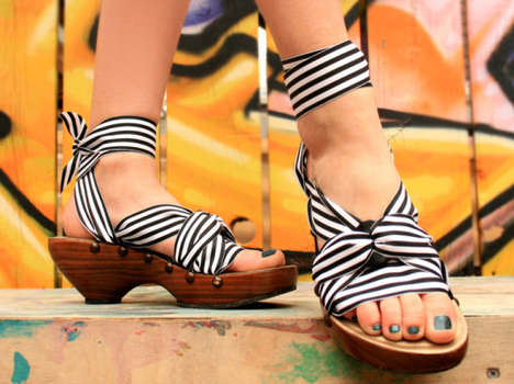 Eco-Friendly Interchangeable Shoes - These Eco-Shoes are One-of-a-Kind Customizable Designs