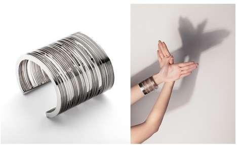 UPC Code Bracelets - Giorgio Bonaguro's Bar Code Bracelet Can be Individually Customized