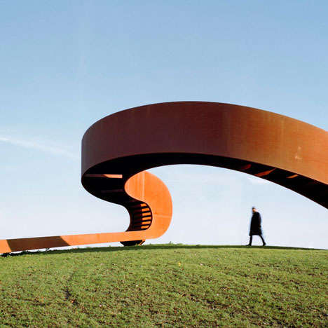 Deceptive Bridge Designs - The NEXT Architects Möbius Strip Bridge Can