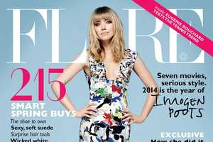 Imogen Poots Shines Bright in the Flare Magazine March 2014 Issue