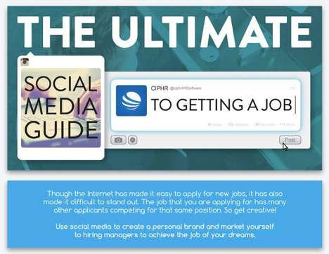 Social Media Career Guides - This Infographic Displays Steps on Starting a Social Media Career