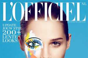 Anais Pouliot Stuns in the L'Officiel Netherlands February 2014