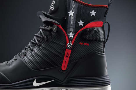 Olympic Star-Spangled Sneakers - Support Team USA with the Nike Lunarterra Arktos USA Boots